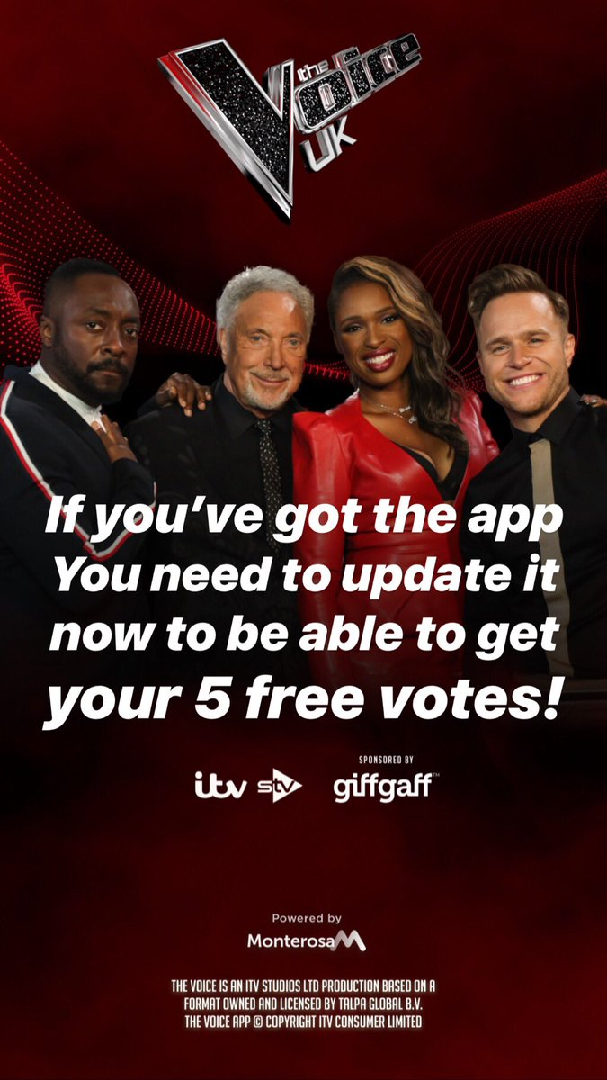 It's almost time guys! Vote opens tomorrow! So make sure you've got the app! And if you already have it then make sure you've got the new update that came out this morning😘❤️ https://t.co/EwZGtzz6mW