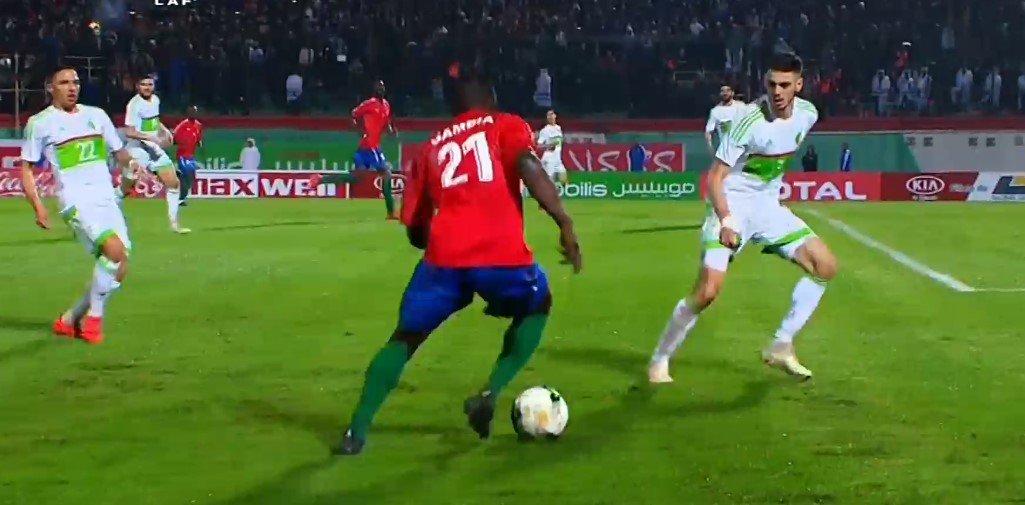 الجزائر 1-1 غامبيا : اداء مخيب للغاية 27