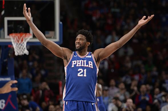 "Joel Embiid 🔥🔥  ""I want to be the best Sixer to ever play here. To do that I gotta win championships""  ""Not just the best Sixers player ever, but I want to be the best to ever do it""  #HereTheyCome"