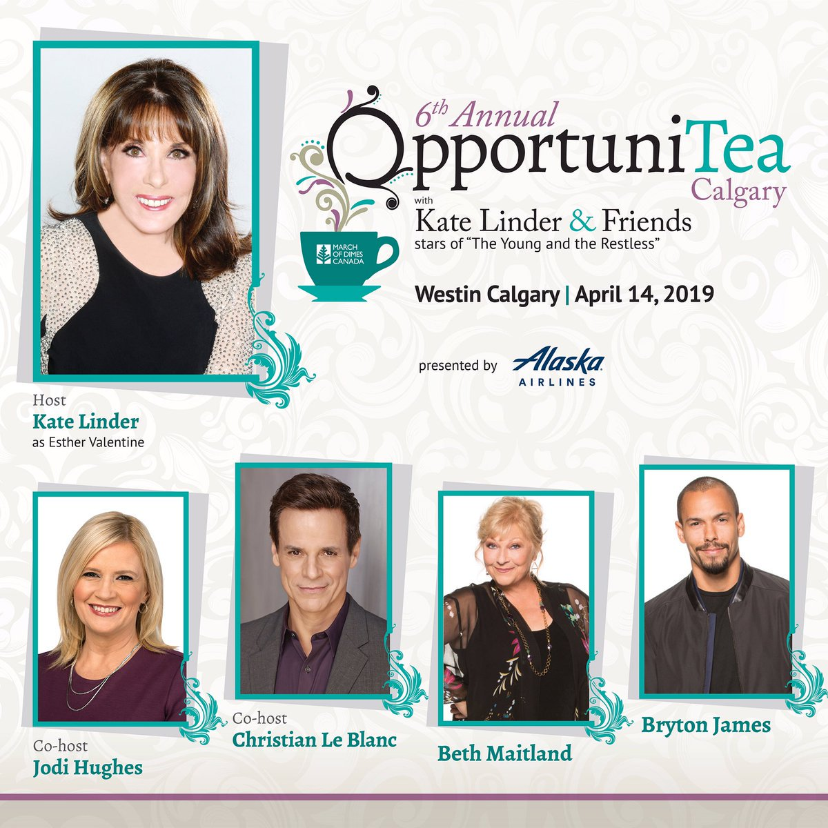 @YandR_CBC  fans if you are a #marriottbovoy  member, here is a chance to experience an exclusive meet and greet with the stars from The Young and the Restless, 2 tix to #OpportuniTEA , a night at The Westin Calgary, plus more! visit:  https://moments.marriottbonvoy.com/moments/8014/auction/40367  … @KATELINDER   @modcanada