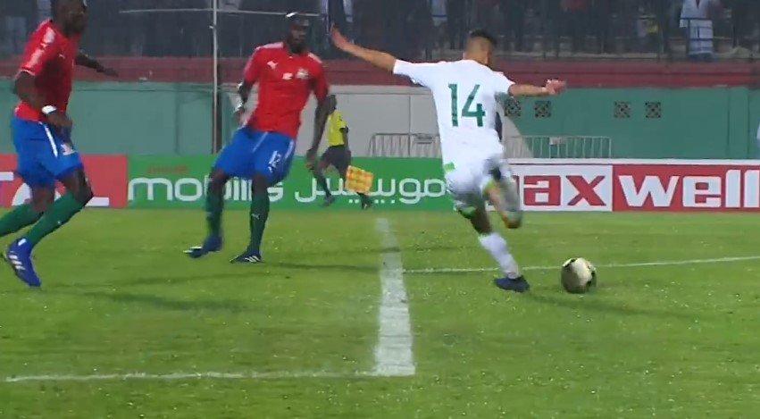 الجزائر 1-1 غامبيا : اداء مخيب للغاية 25