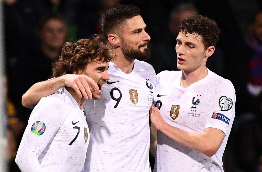 Moldavia 1 Francia 4 - Eliminatorias Eurocopa 2020 - Video D2Sx_q0WwAALX0m