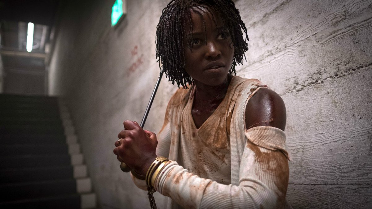 "Horror film #UsMovie – which hits theaters today – is a ""a fiercely scary movie."" Read the review: http://thr.cm/mqkOFb"