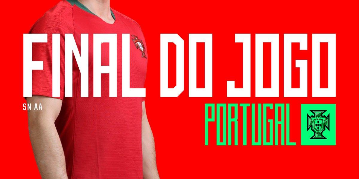 Final da partida. Portugal começa a fase de apuramento com um empate. O foco passa já para o jogo com a Sérvia e queremos a vitória na segunda-feira! Vamos!  #PORUKR   0-0   #TodosPortugal #EURO2020