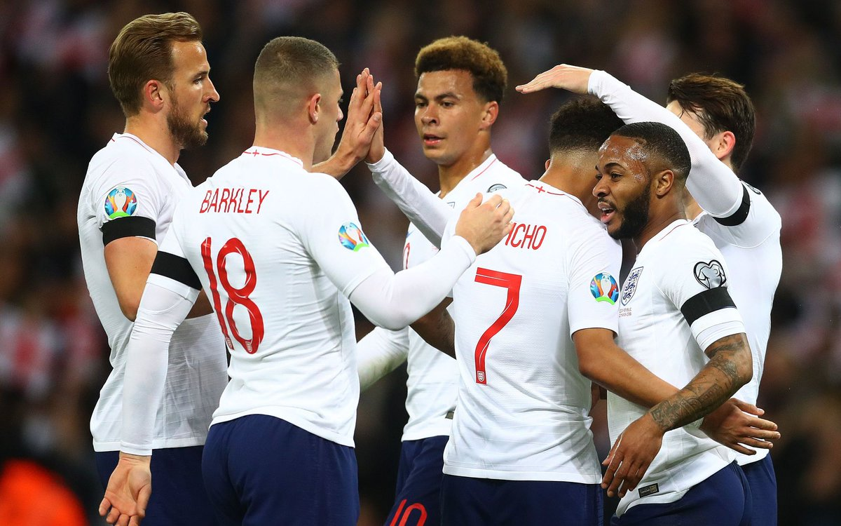 Full time from Wembley Stadium: England 5 - 0 Czech Republic. #ENG #ENGCZE  ⚽🏴🇨🇿