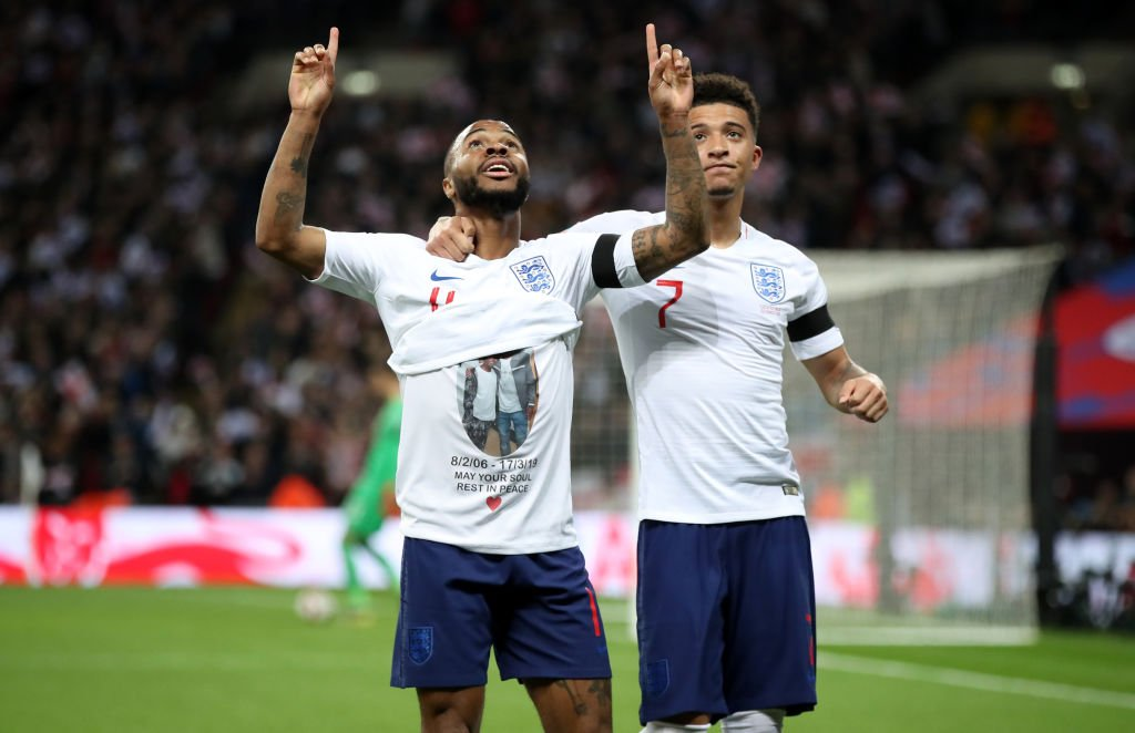 Inglaterra 5 Republica Checa 0 - Eliminatorias Eurocopa 2020 - Video D2SzRJRWsAAn5xA