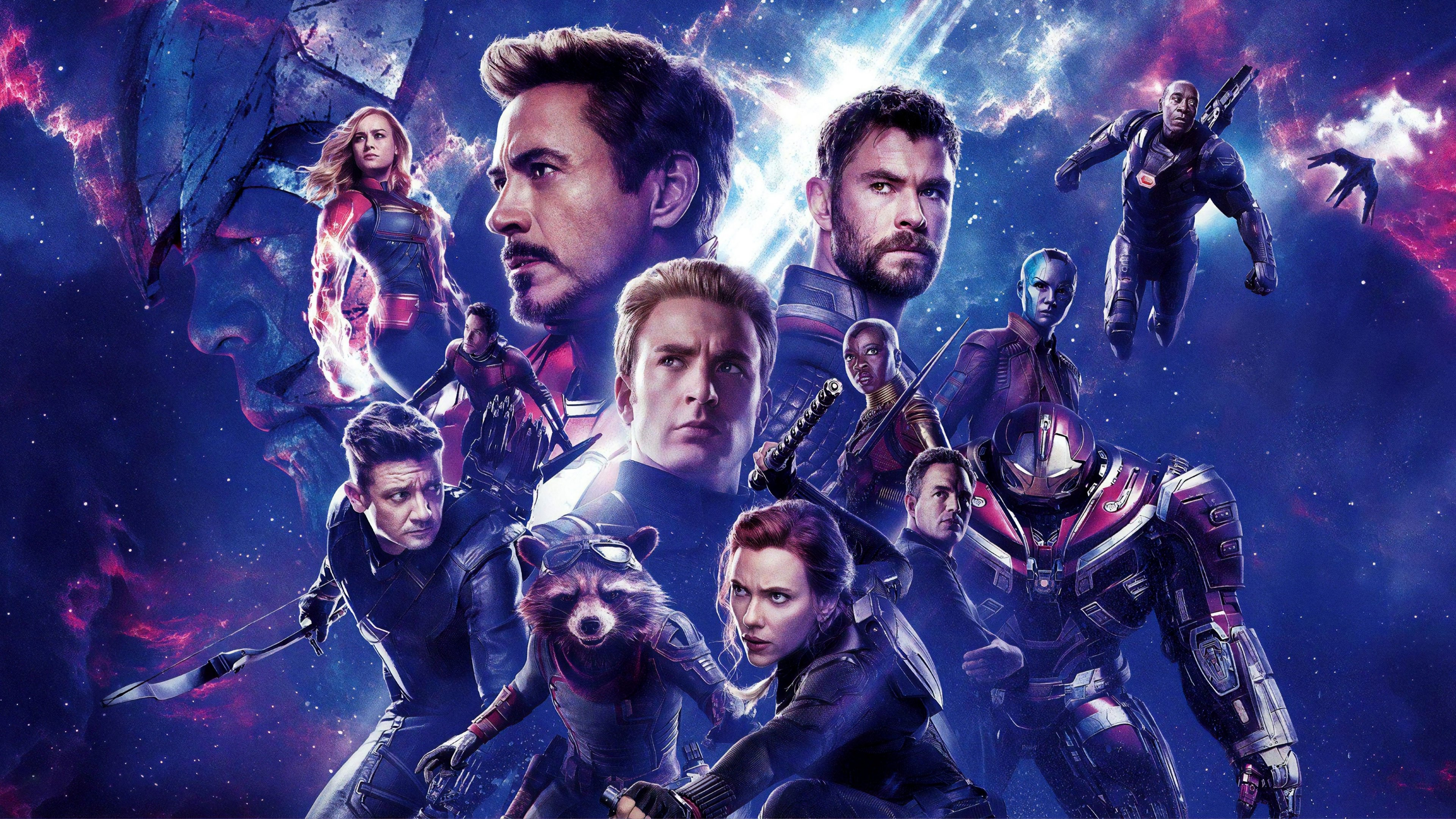 Avengers Endgame Check Out An Ultra Hd Textless Version Of The