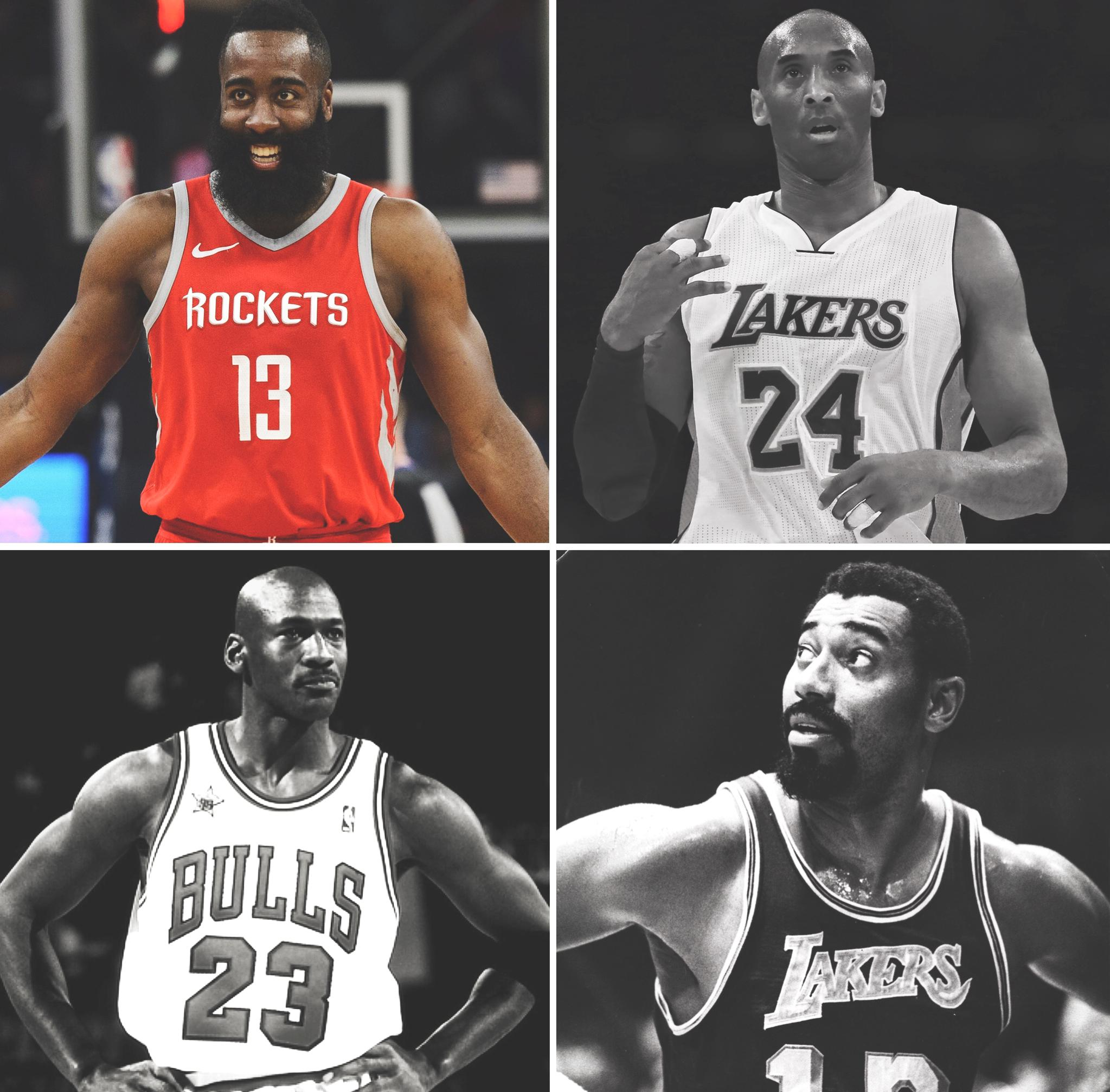 James Harden joins Wilt, Kobe and MJ as the only players with multiple 60-point games in a season in NBA history ���� https://t.co/wAZqAAuzi7
