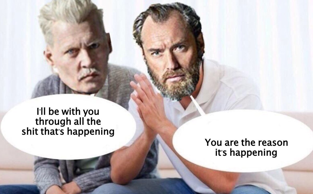 supportive Grindelwald