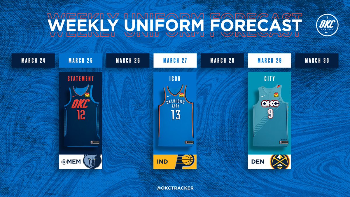 Three more games of Thunder basketball on deck including the final chance to get a win against Denver.