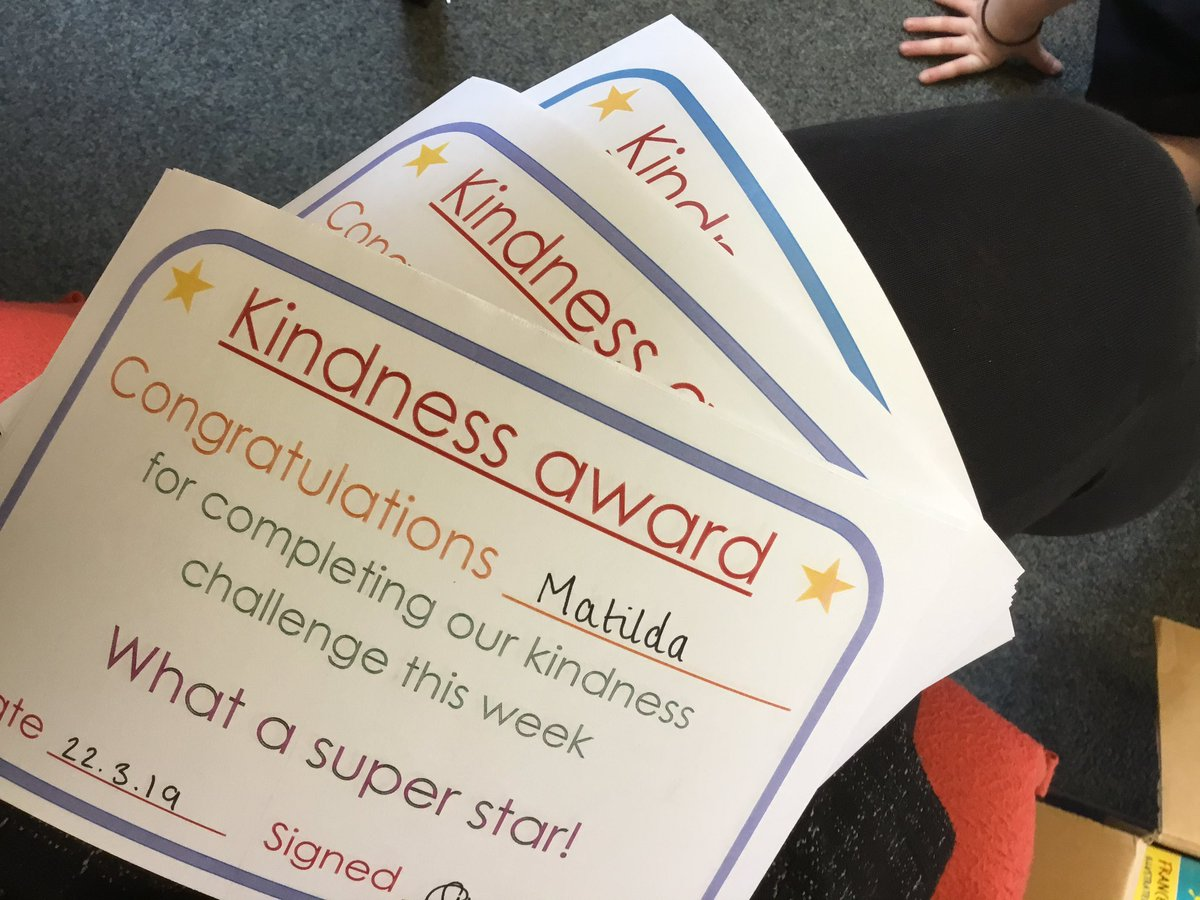 test Twitter Media - We've been thinking hard about how we can go above and beyond to be kind this week. We were inspired by our new book 'Between Tick and Tock' and we all achieved our kindness award by making small changes to our day to make someone else happy. #gorseyenglish #gorseybookclub https://t.co/eAZodjm8bI