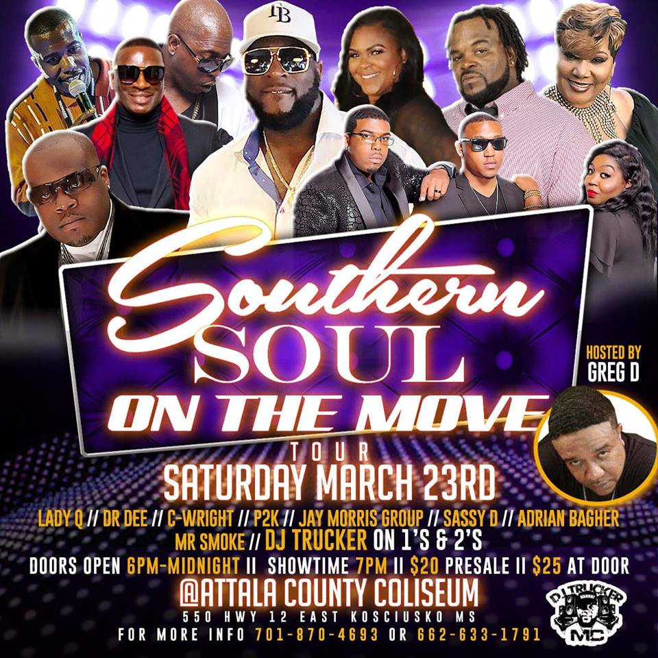 """Grown Folks - Its Turn Up On Saturday Night!March 23rd-Tomorrow Night   The Tour Of The Year! The """"Southern Soul On The Move Tour"""" Coming To A City Near You!  #SouthernSoul #GrownFolks #Tour #OnTheMove #City #DownHome #SaturdayNight"""