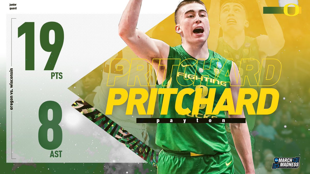 NCAA March Madness's photo on Pritchard