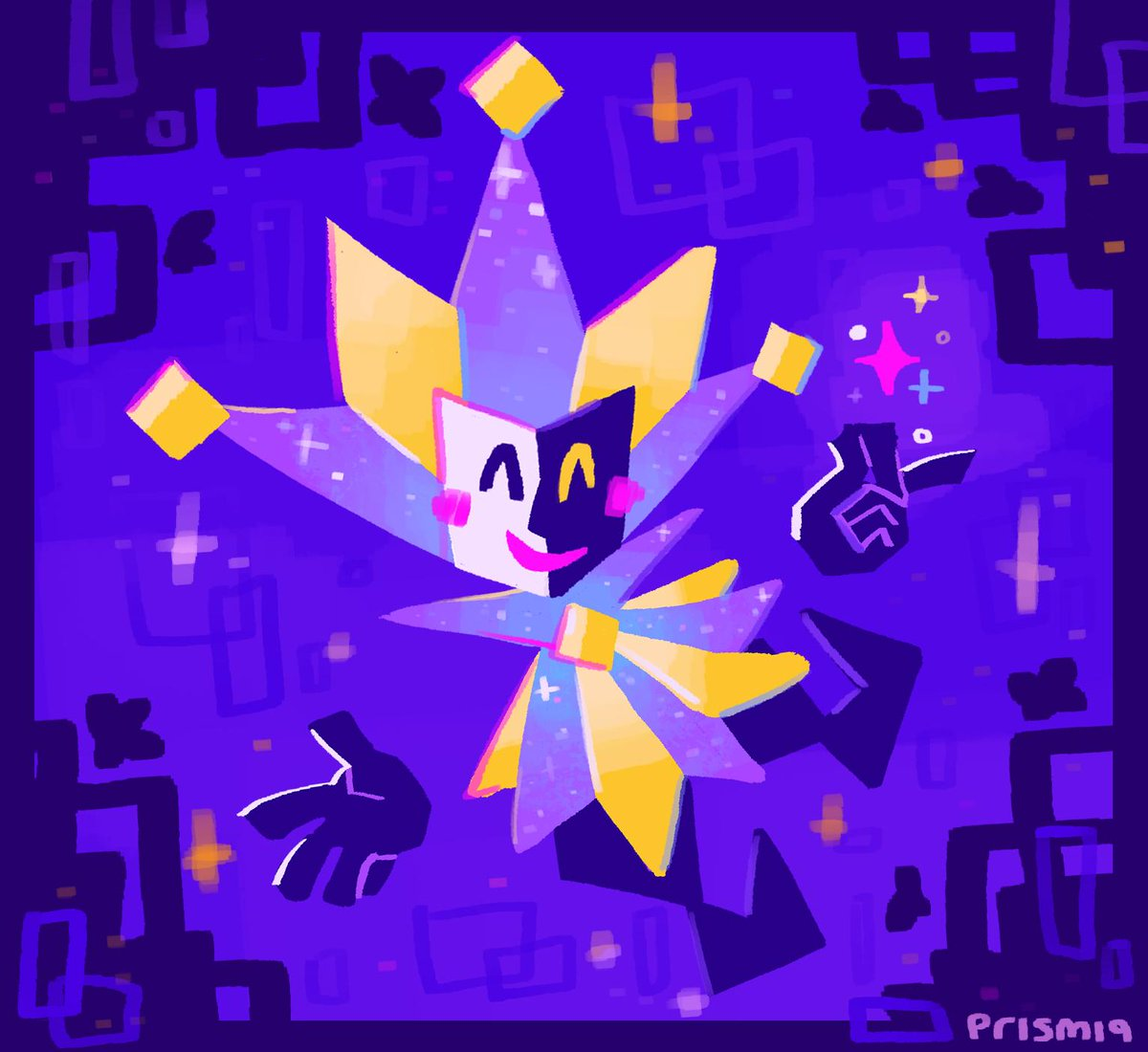 Hey #transmascartists :) I&#39;m a character designer and fan-artist who really likes the colour purple and sparkly things <br>http://pic.twitter.com/WKaPJ6gO3k