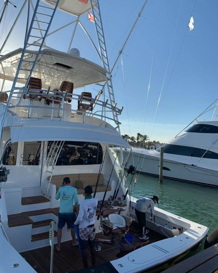 Casa de Campo, DR - Black Hawk went 1-1 on Blue Marlin.