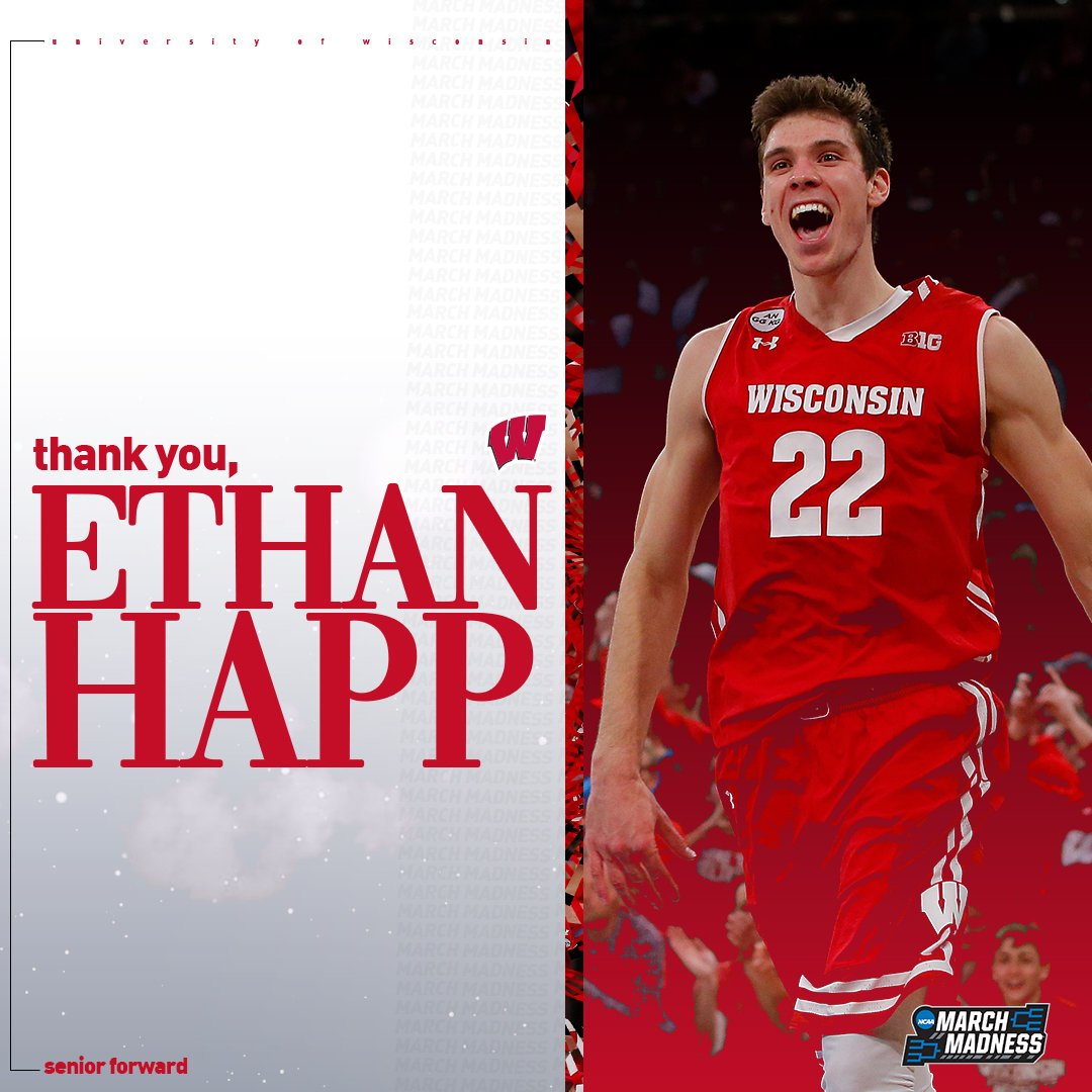 NCAA March Madness's photo on Ethan Happ