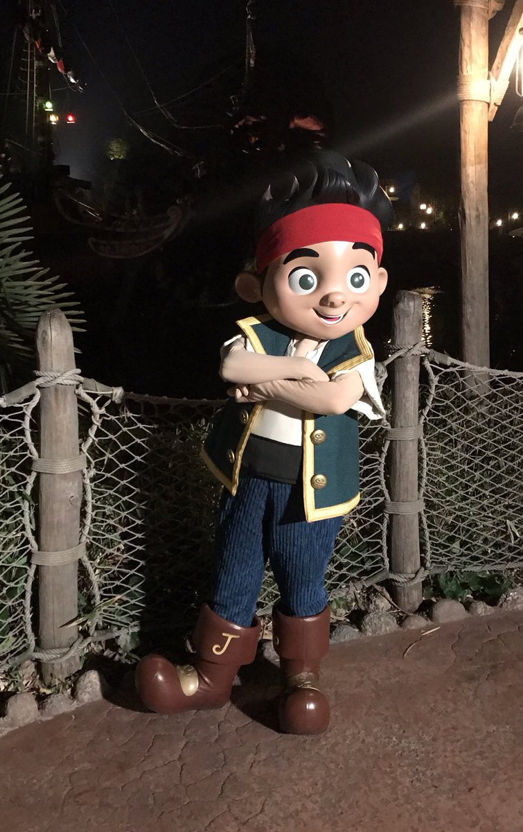LIVE : A pirate's life for Jake!💙💛#DLPLive #DLP #Disney #DisneylandParis