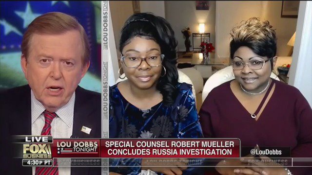 ...and now we're going live to Fox Business for the premium Mueller report content
