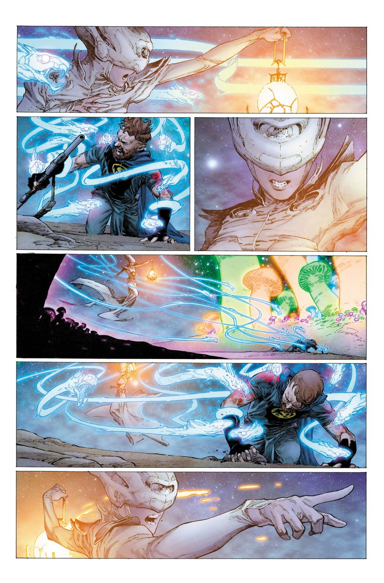 From Seven to Eternity for Image Comics. Written by Rick Remender, drawn by Jerome Opeña and colored by me. <br>http://pic.twitter.com/vN9TrrNH3C