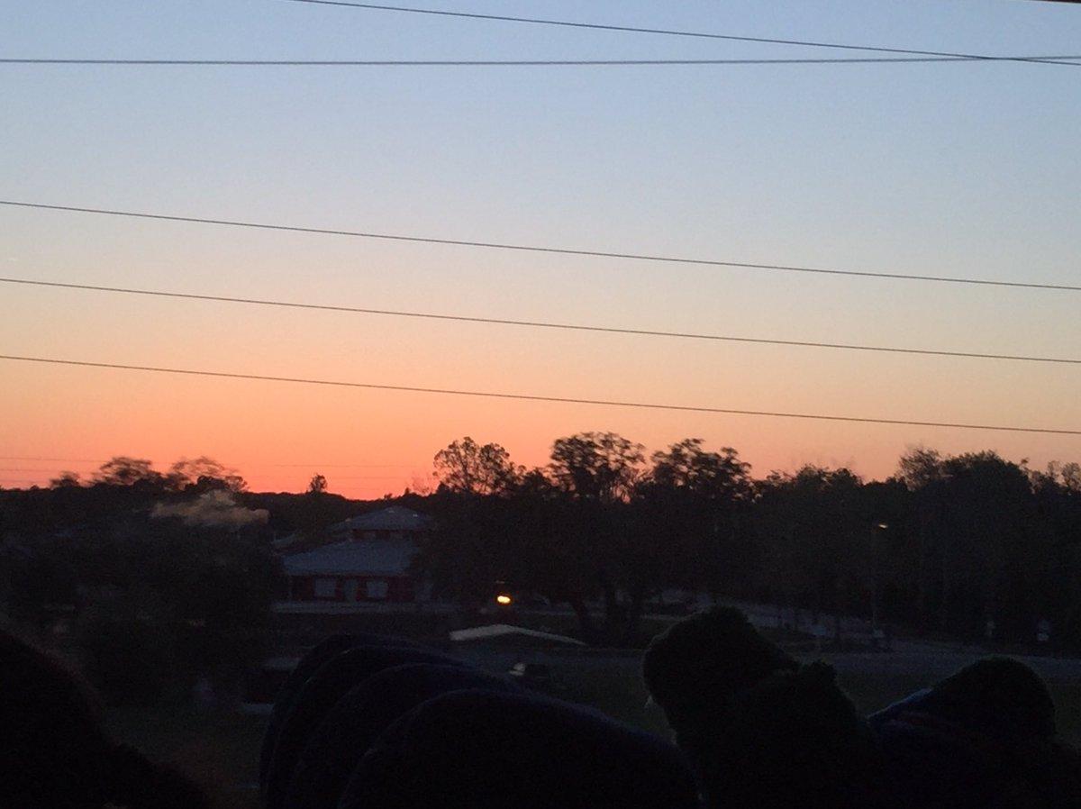 Beautiful sunset in Orlando! @spann @StormHour #FLwx #stormhour #POTW