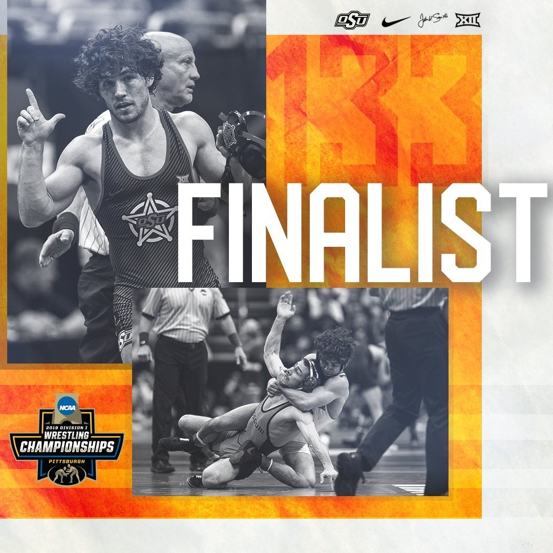 133 Semifinal | Fix finishes it off with a 4-2 win and moves on to the finals!! #okstate<br>http://pic.twitter.com/W5vxWTQIGU