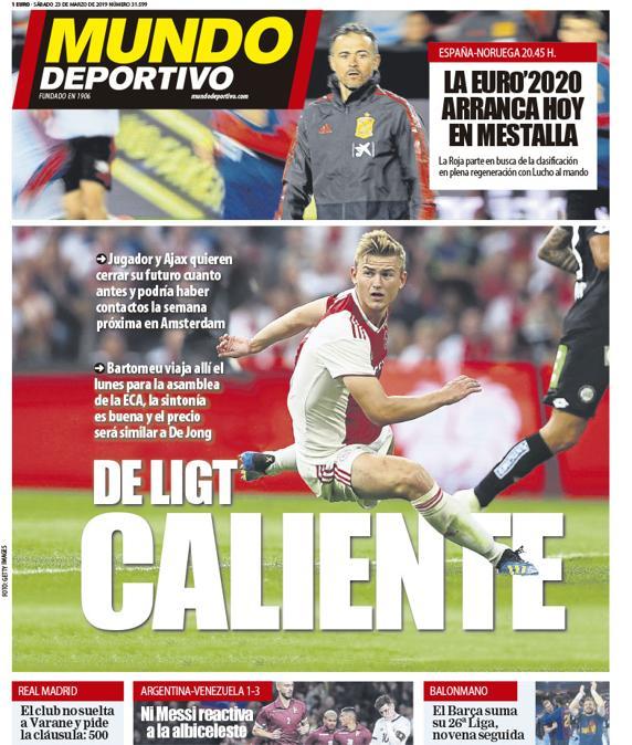 Hola, aquí os dejamos la portada de este sábado #portada #deporte https://www.mundodeportivo.com/elotromundo/actualidad/20190323/461172868920/portada-mundo-deportivo.html…