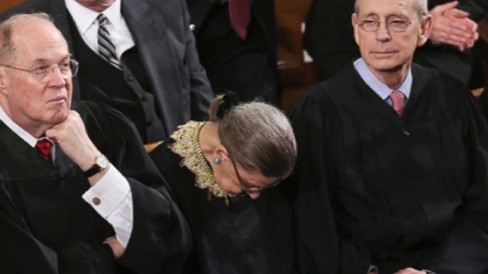 Meyers: Today is Supreme Court Justice Ruth Bader Ginsburg&#39;s 85th birthday. No one surprise her. <br>http://pic.twitter.com/23g3b2yLhS