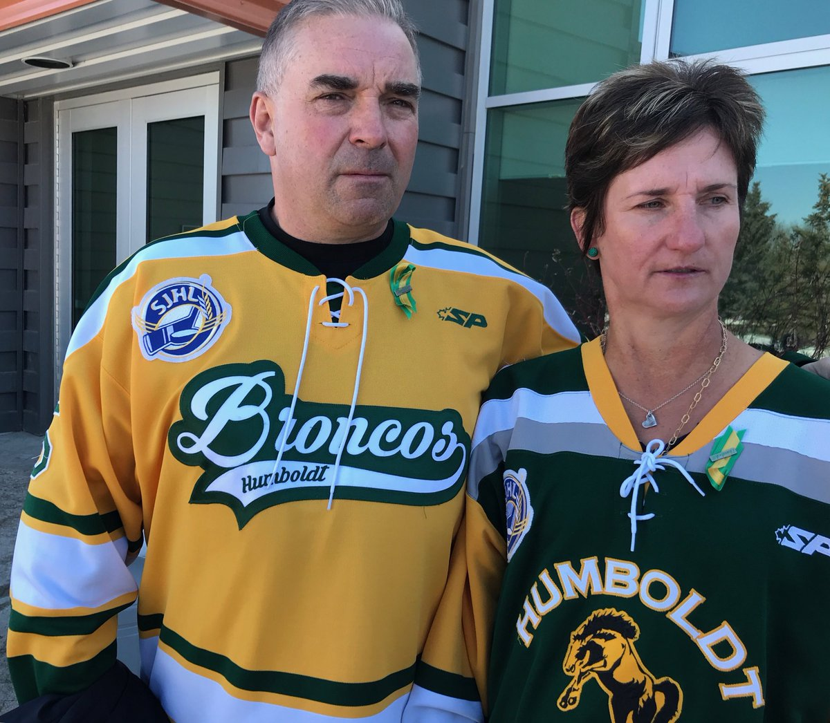 """It doesn't change anything, Adam's not coming back. It was so preventable; now we have a life sentence"", Russ and Raelene Herold on Broncos sentencing - driver Sidhu sentenced to 8 years ⁦@HumboldtBroncos⁩ ⁦@CBCTheNational⁩"