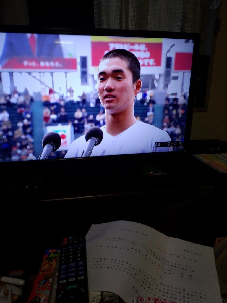 風見利男's photo on 選手宣誓