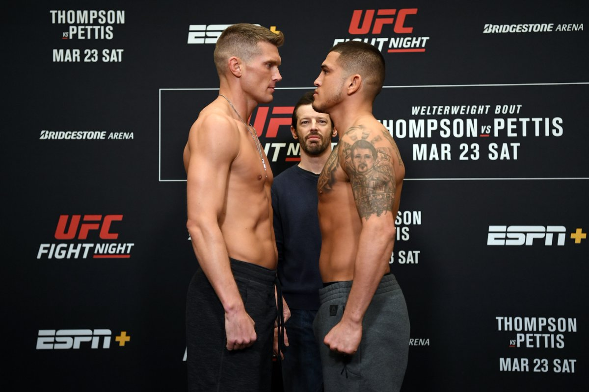 THOMPSON vs PETTIS!!! Tomorrow night on ESPN+