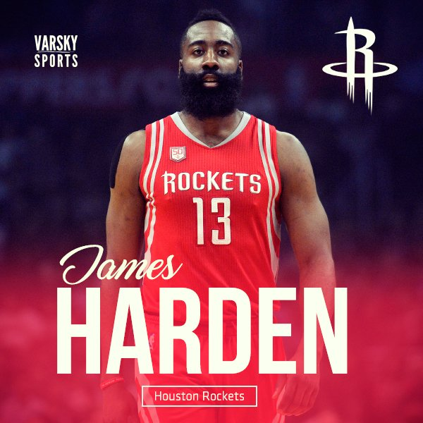 VarskySports's photo on James Harden