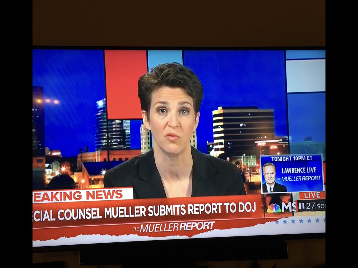 """I have been switching over to MSNBC to check in and see how the Wake is doing!  A lot of long faces over there, but they are trying to keep a stiff upper lip!   Except for the Ice Princess Rachel Maddow. Is it just me or has she shed a few tears  before """"Showtime""""? <br>http://pic.twitter.com/NNmQjjNNtW"""