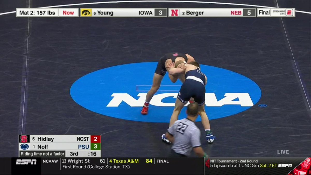 NCAA Wrestling's photo on Jason Nolf