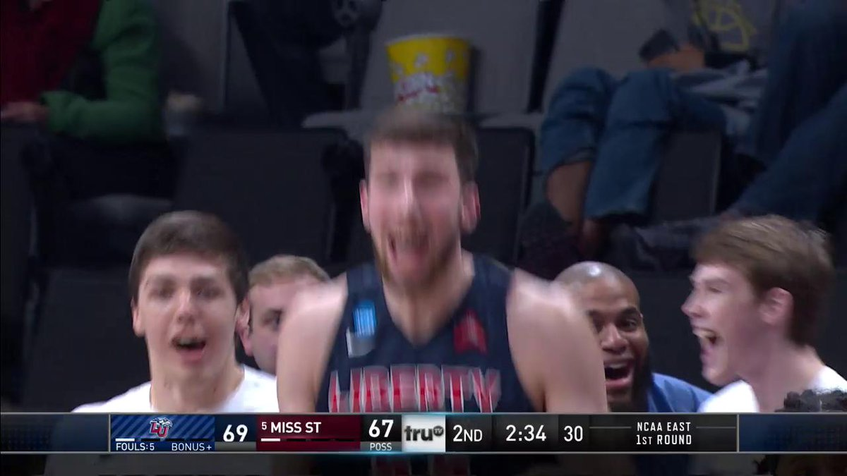 No. 12 Liberty Upsets No. 5 Mississippi State