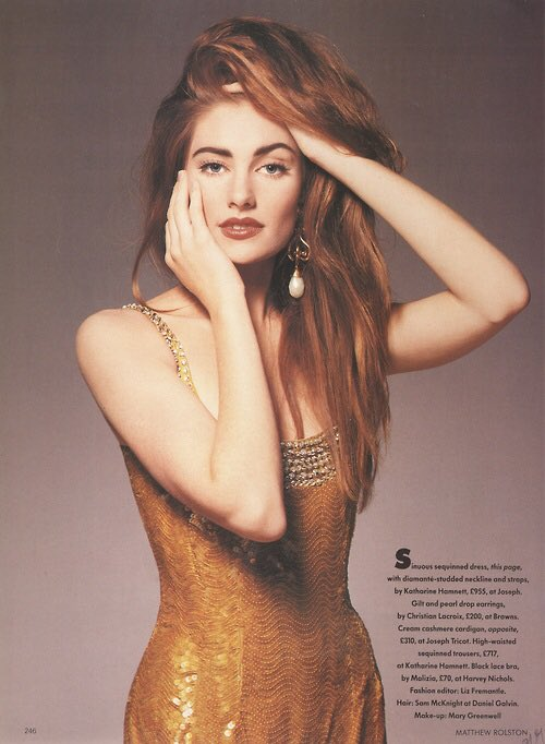 RT @FansMadchen: #FlashbackFriday to 1989 when @madchenamick was photographed by Matthew Rolston for Vogue! https://t.co/mVWx4zcBoP