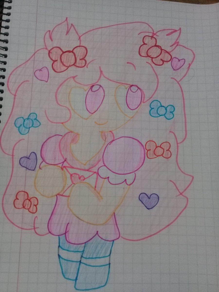 Cotton Candy Cookie Drawing  Un Dibujo De Cotton Candy Cookie <br>http://pic.twitter.com/gtRdegJpRE