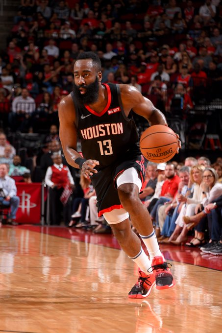 🚀 61 PTS, 7 REB 🚀 Ties career-high 🚀 Ties @HoustonRockets franchise record  🚀 Moves to 10th on NBA 3PM list   @JHarden1