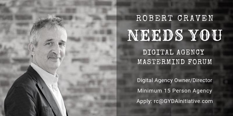 Grow Your Digital Agency with @Robert_Craven  Apply now at @Robert_Craven #DigitalAgency #MastermindGroup https://t.co/n0306oe9d4