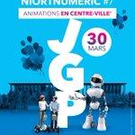 Image for the Tweet beginning: Niort Numeric #7 - Journée