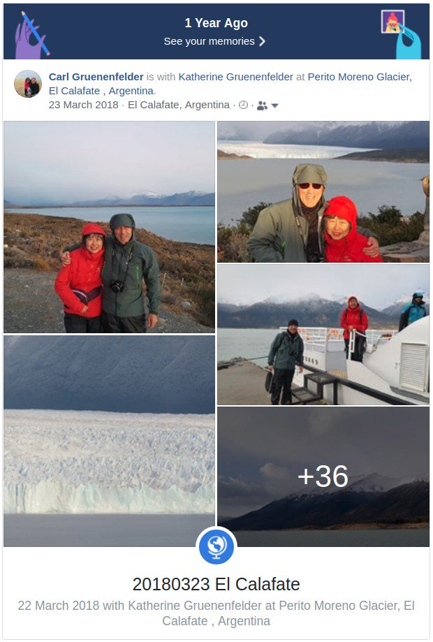 #PeritoMorenoGlacier #ElCalafate #Argentina A definite #MustVisit. No #photo can capture the #wonder of being there. 1st #cruise, then walk on #glacier & #explore an #IceCave under glacier followed by walk on #boardwalks with #FantasticView of glacier. #PeritoMoreno #SouthAmericapic.twitter.com/eL1H5KzzyM