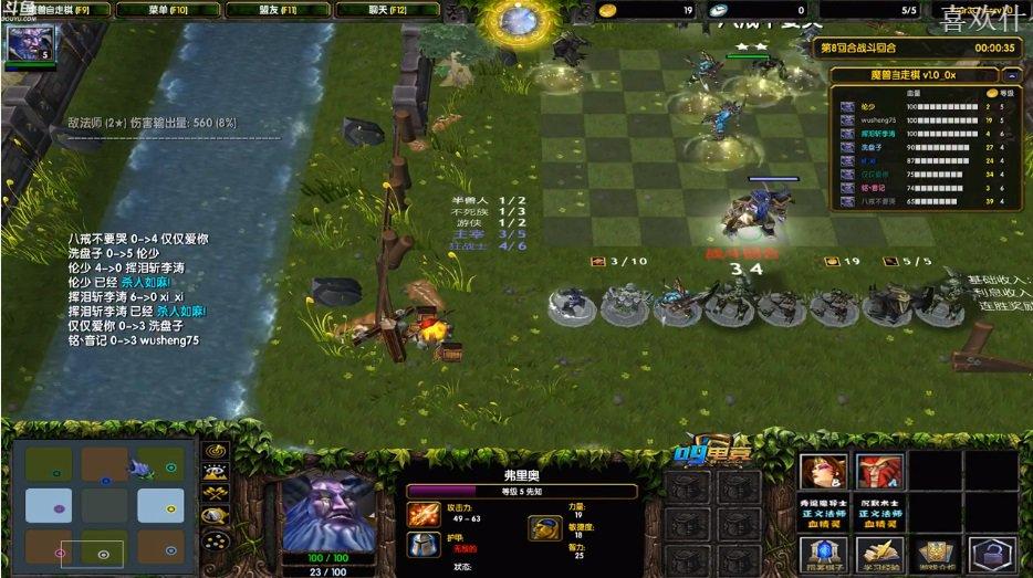 Warcraft 3 Auto Chess Made in China Someone made a Warcraft