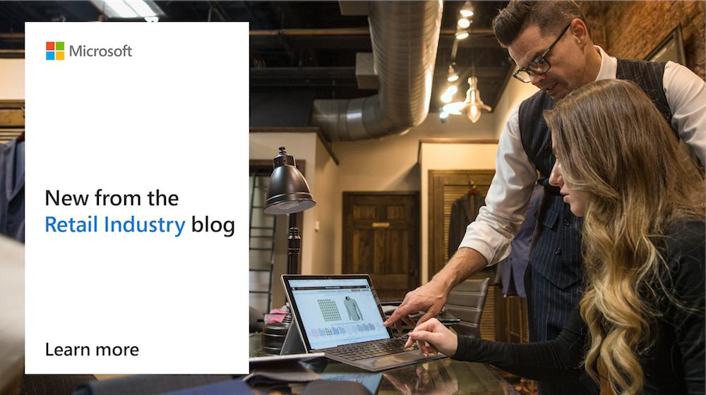 Customers are looking to have more control of their purchase journey and seeking out personalized experiences. Explore the future of #retail: http://msft.social/lCXbo1