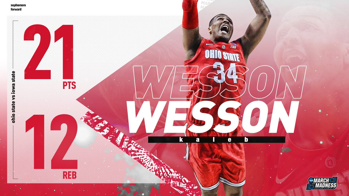NCAA March Madness's photo on Kaleb Wesson