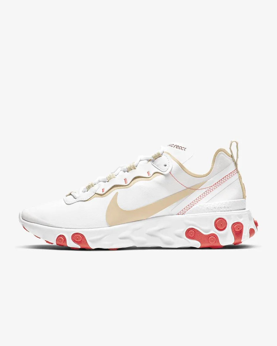 64fb1be4f8749 LIVE via Nike US Nike WMNS React Element 55  Ember Glow      http   bit.ly 2YdNXCt pic.twitter.com 02jl6b9yWG