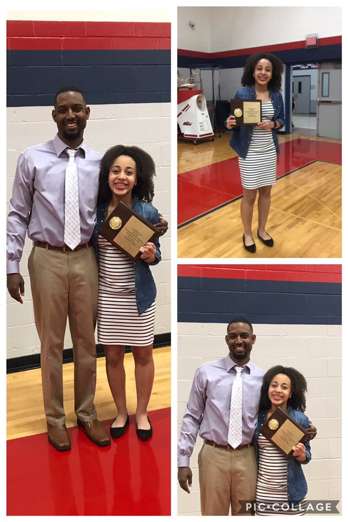 2018-19 Dulles Lady Vikes hosted their basketball banquet tonight and @Nya_T08 received her award f/district 20-6A..Newcomer of the Year!!! #proudparents @DullesGBB @TP_Basketball<br>http://pic.twitter.com/23q1saAheF
