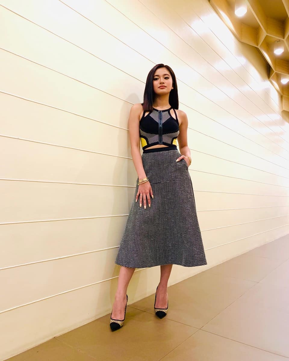 Check out Asia&#39;s Pop Sweetheart @MyJaps&#39; look for Eat Bulaga earlier today! <br>http://pic.twitter.com/t9J7qKkORX