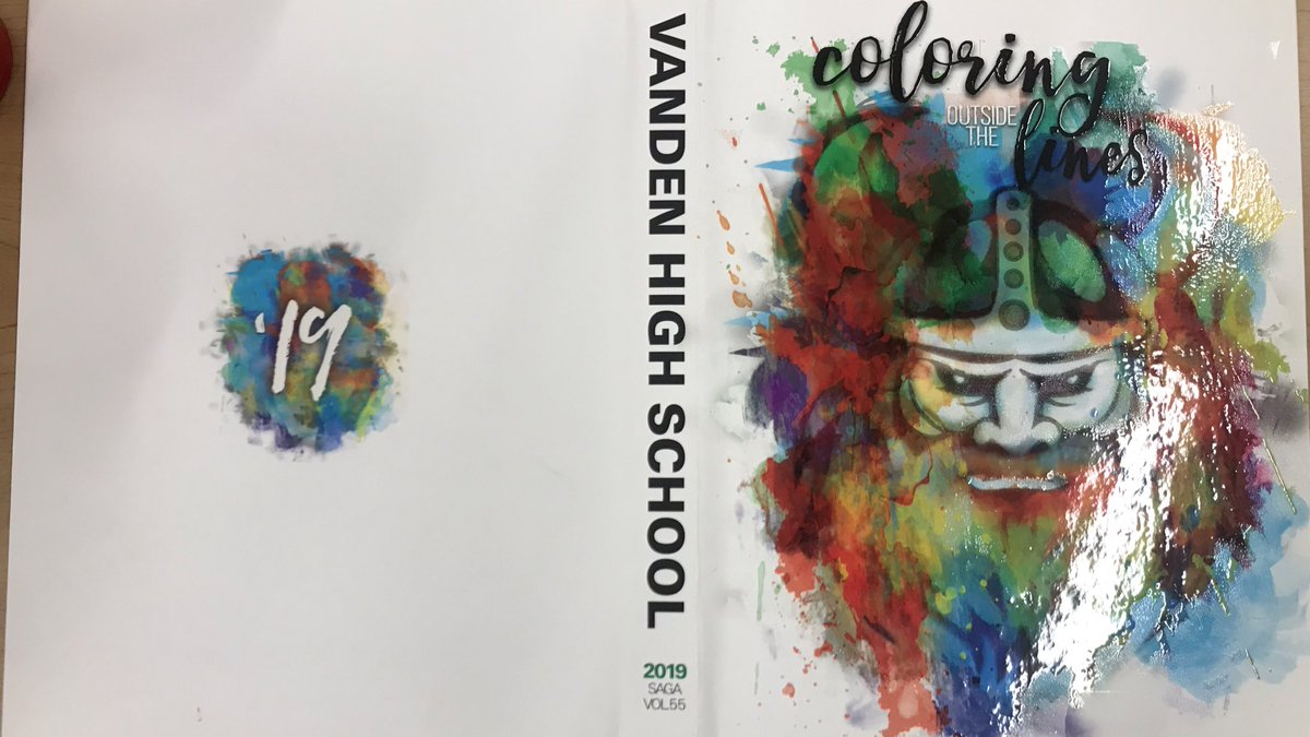 Hey Vikes! We are happy to present to you this year's yearbook cover! <br>http://pic.twitter.com/MUokTONaCf