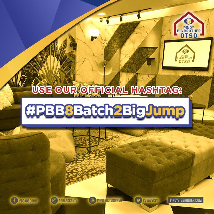 Pinoy Big Brother's photo on #PBB8Batch2BigJump