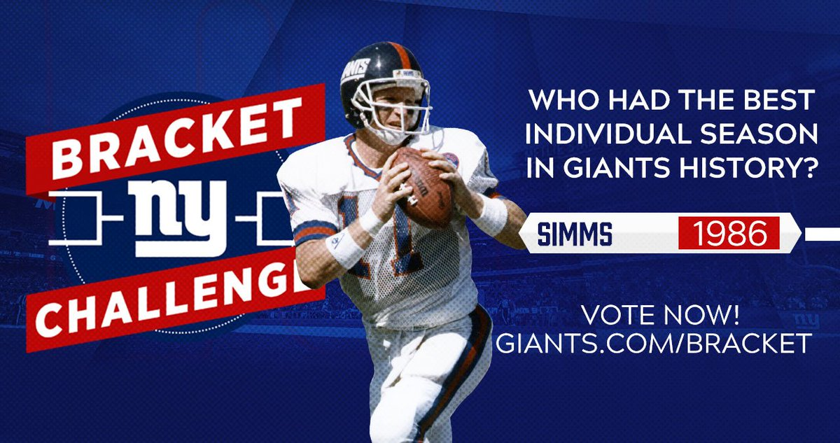 Image for the Tweet beginning: Phil Simms threw for 3,487