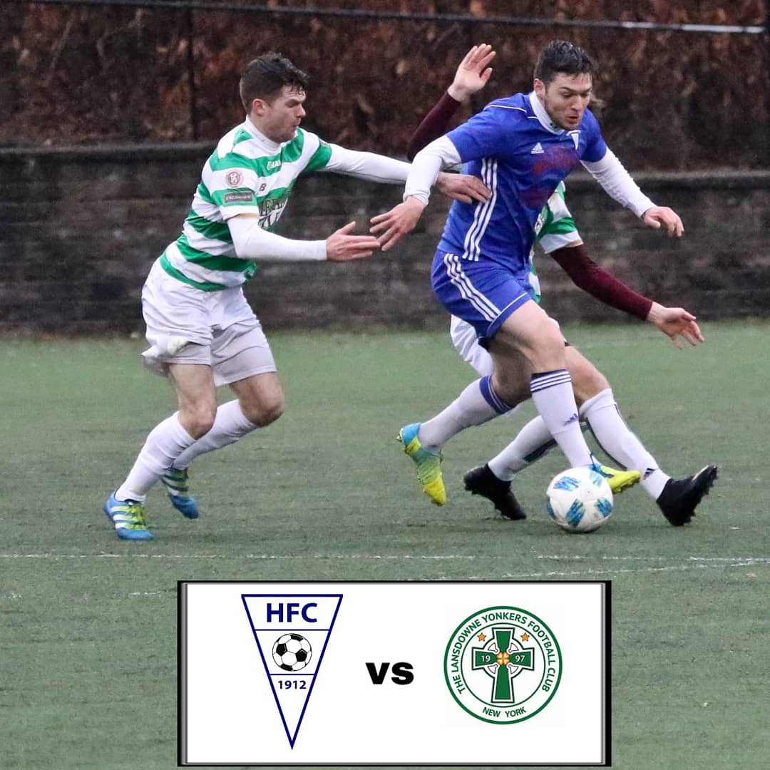 Firsts & Reserves host @lansdownebhoys at #thejunction Secaucus NJ Sunday  @cosmoleague @mulligans_hoboken